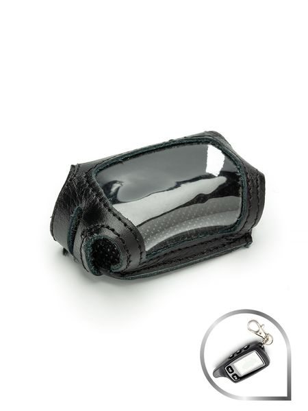 Чехол для брелка сигнализации TOMAHAWK 7000/7010/9000/9010/9020/9030 NEW (кобура черная кожа) - фото 7